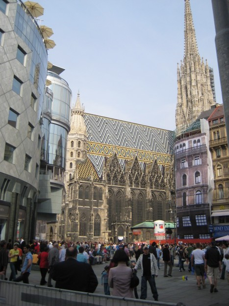 Vienna's Downtown Core: St. Stephen's Cathedral