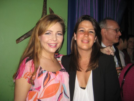Pamela with co-arbitrator Laura from Paris
